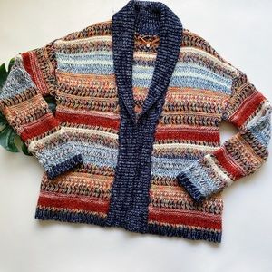 ANTHRO | KNITTED & KNOTTED | OPEN CARDIGAN W15